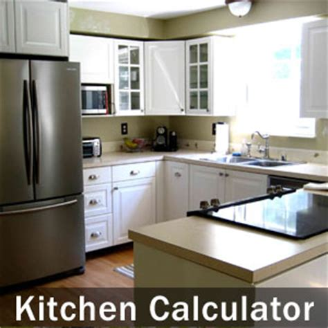 kitchen cabinet calculator remodeling sc