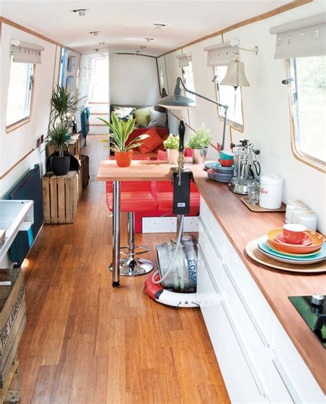 Amazing Spaces Interiors by George Clarke S Amazing Spaces The Luxury Narrowboat Visi