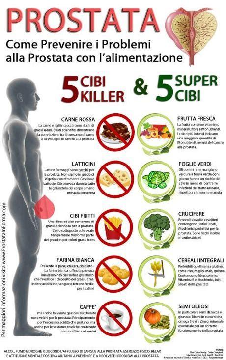 alimenti fanno alla prostata come prevenire i problemi alla prostata con l