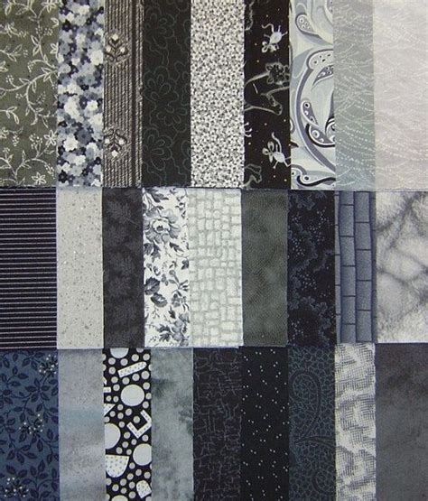 quilt fabric squares 5 inch gray charm pack by overstashed