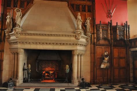 In The Fireplace by Edinburgh Castle Travel Photos By Randy Plunkett
