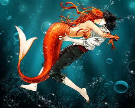 anime underwater underwater mermaid orihime and ulquiorra daily anime