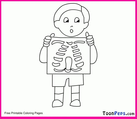 printable x rays x ray coloring pages coloring home