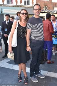 suranne jones weds fianc 233 laurence akers front handful witnesses daily mail
