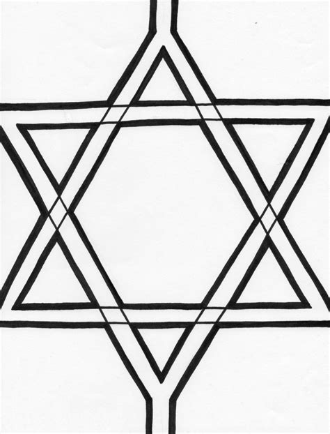 coloring page of star of david star coloring pages coloring pages to print