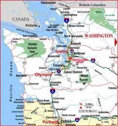 map of washington washington maps mapsof net