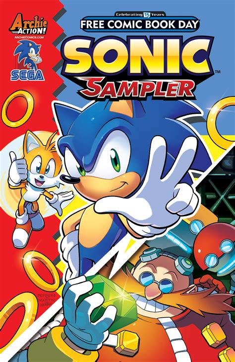 sonic day sonic free comic book day 2016 mobius encyclopaedia fandom powered by wikia