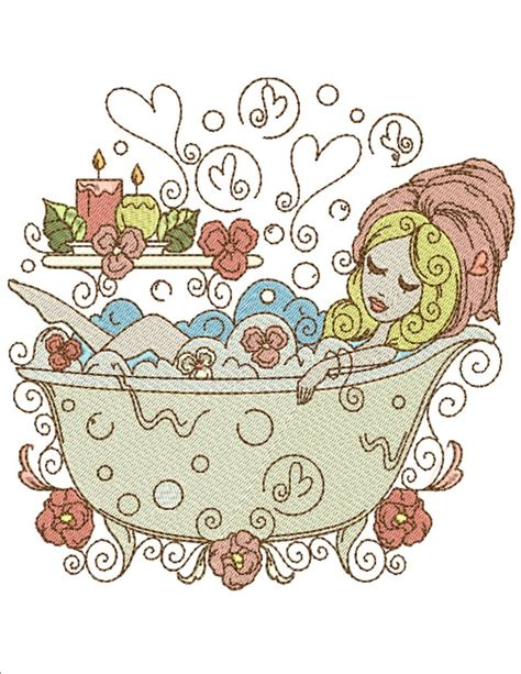bathroom embroidery designs love bath and spa machine embroidery designs by sew swell