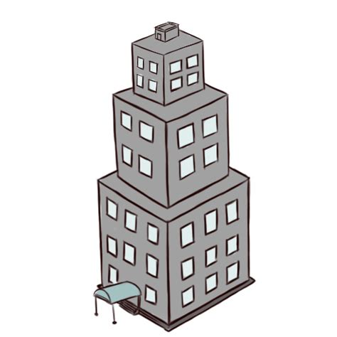 easy to draw architecture how to draw buildings