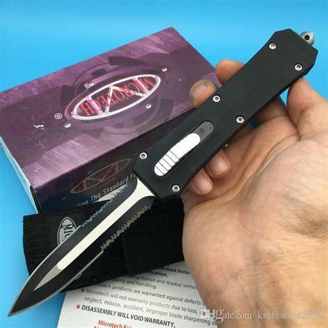 Pisau Lipat Tactical Survival Outdor Automatic Dual Knife Da812 microtech a162 troodon blade dual auto tactical knife scarab nemesis makora
