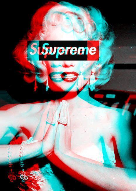 wallpaper tumblr supreme supreme marilyn anaglyph 3d pinterest marilyn monroe