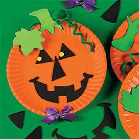 Paper Plate Pumpkin Craft - craft room ideas pumpkin craft ideascool craft
