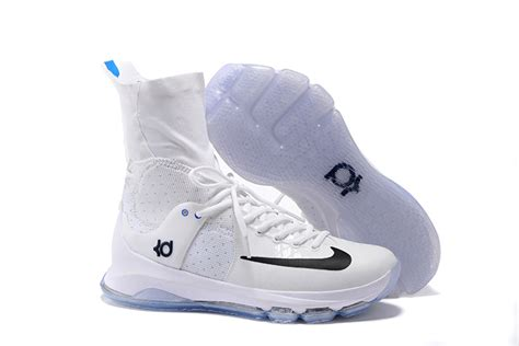 s nike kevin durant 8 playoff basketball shoes white