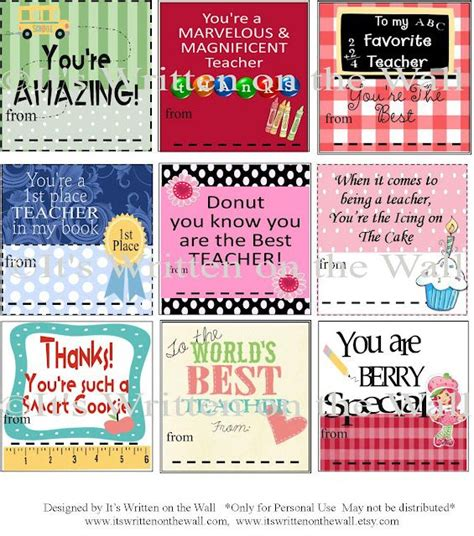 principal appreciation cards template free printable appreciation notes gift ideas