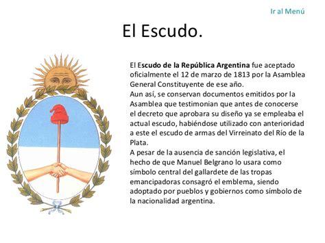 imagenes simbolos patrios argentinos simbolos patrios