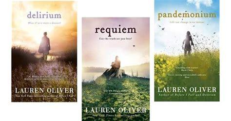 Requiem Delirium Trilogy the delirium trilogy by oliver delirium requiem