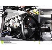 NASCAR  Inside Of Race Car 2010 All Star Editorial