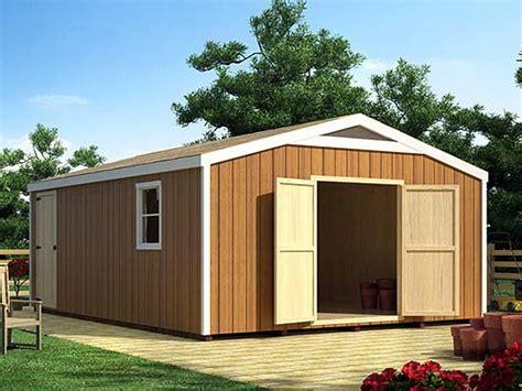 storage shed plans large backyard storage shed plan