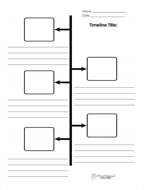 Blank Timeline Template 40 Free Psd Word Pot Pdf Free Templates For Timelines