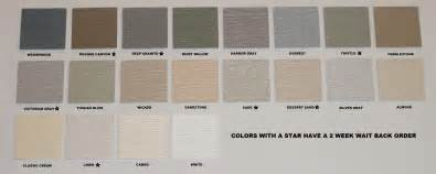 vinyl siding color chart 15 siding colors hobbylobbys info