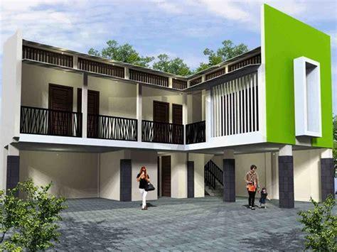 model rumah kost minimalis sederhana terbaru gambar desain rumah
