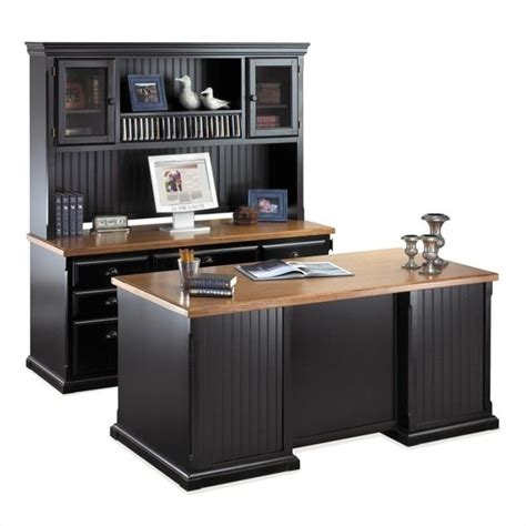 executive desk and hutch set martin furniture southton executive desk set with hutch