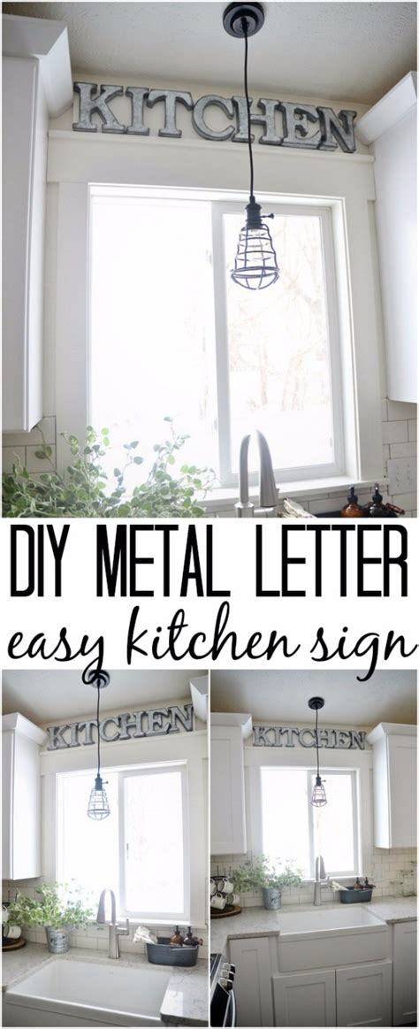 kitchen wall decor ideas diy 41 amazing diy architectural letters for your walls diy
