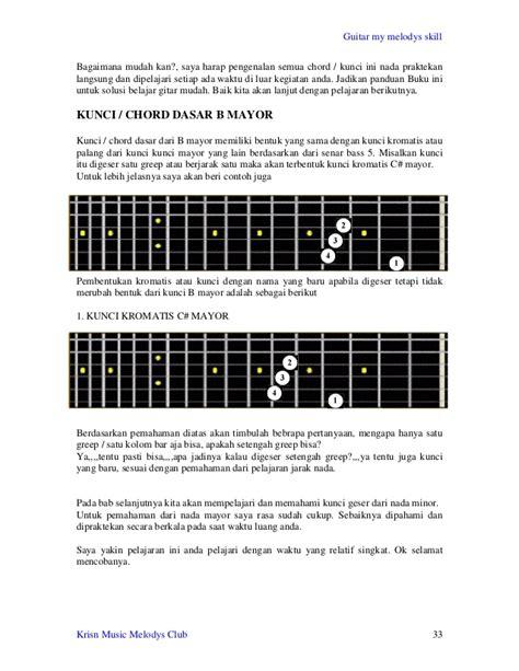 belajar kunci gitar dhyo haw jarak dan kita belajar gitar dasar disertai gambar