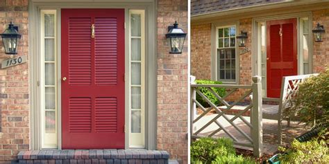 Louvered Exterior Doors Aluminum Door Aluminum Door Louver Inserts
