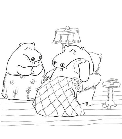 George And Martha Coloring Page Supercoloring Com And Martha Coloring Page