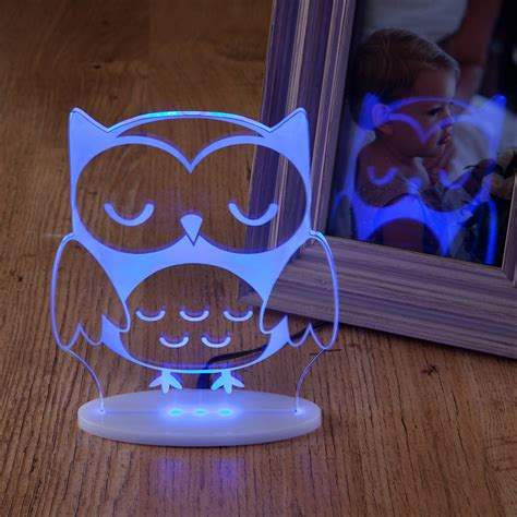 and boys remote controlled owl light by
