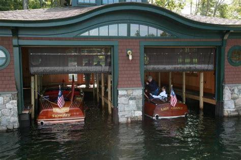 wooden boat house annual boathouse tour on lake winnipesaukee woodenboat