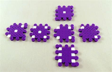 easy 3d perler bead project perler bead dice tutorial
