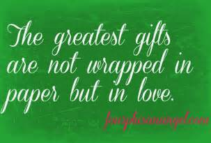 holiday gift giving quotes quotesgram
