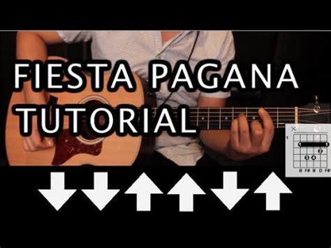 tutorial de zombie the cranberries guitarra como tocar quot fiesta pagana quot de mago de oz tutorial