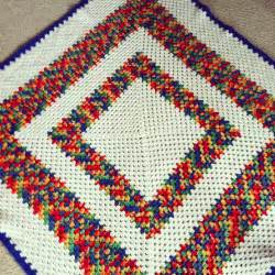 Vintage finds granny square crochet afghans hello creative family