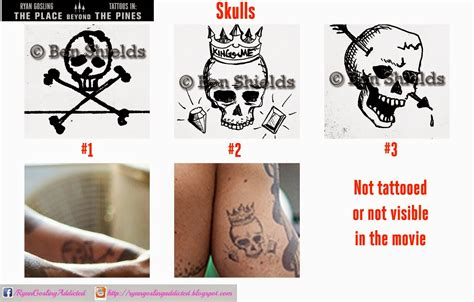 place beyond the pines tattoos the gos and temporary tattoos 2 gosling addicted