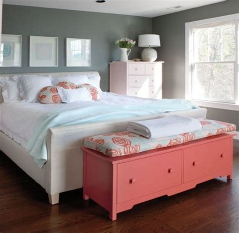 coral color bedroom 30 grey and coral home d 233 cor ideas digsdigs
