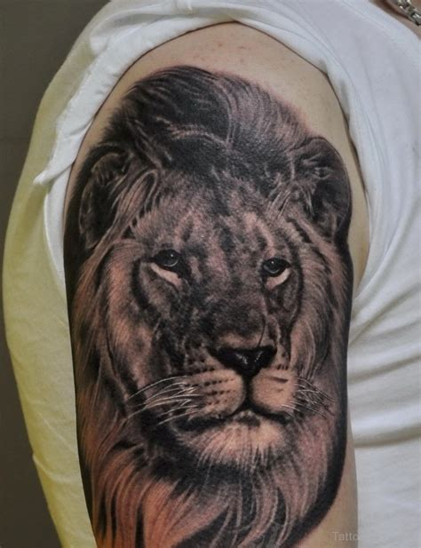 realistic lion tattoo designs animals tattoos designs pictures page 36