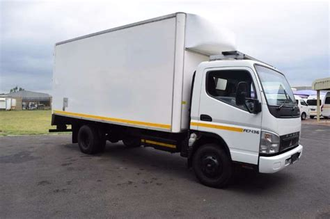 mitsubishi fuso fe7 136 closedbody 4 ton volume truck