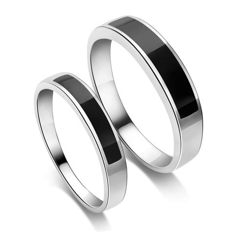 sterling silver mens wedding rings bands