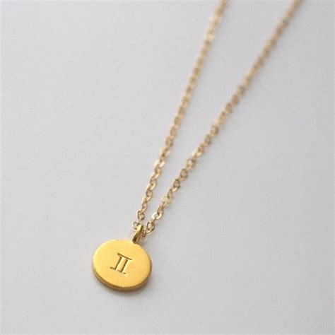 Letter Necklace Not On The High Gold Zodiac Sign Necklace By A Box For My Treasure