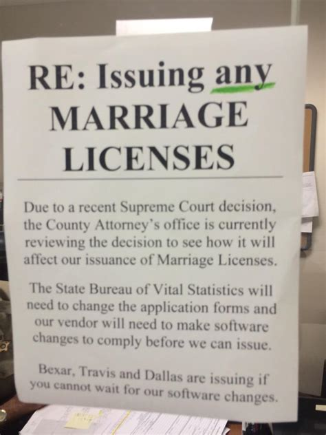 Bexar County Marriage License Records Same Marriage Is Now In Kut