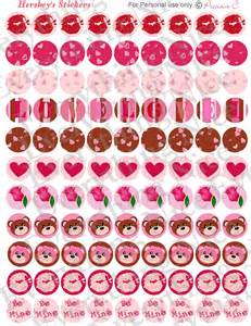 Free Hershey Kisses Labels Template 7 Best Images Of Free Printable Valentine Stickers Free