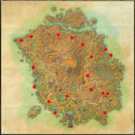 skyshard eso locations map the elder scrolls online morrowind skyshard location map