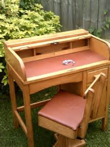 child s roll top desk child s roll top desk with swivel chair antiques atlas