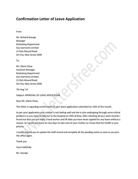 Confirmation Leave Letter 1000 Images About Sle Confirmation Letter On In The O Jays And Children