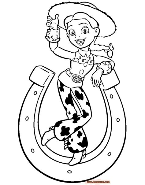 free coloring pages disney toy story jessie toy story coloring page az coloring pages