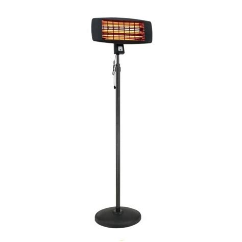 Standing Patio Heater La Hacienda Smq2000 2kw Adjustable Standing Patio Heater