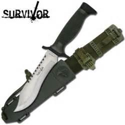 Pirate Home Decor Survivor Brand Survival Knife Silver